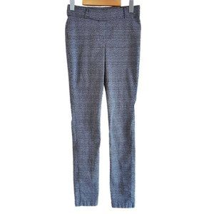 Suzy Shier Pull On Stretchy Skinny Dress Pants 3/4